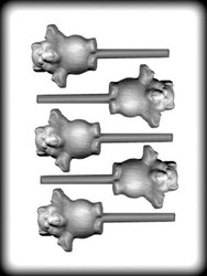 "2 1/2"" BEAR SUCKER HARD CANDY MOLD"