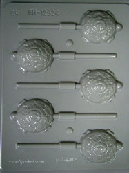 TURTLES SUCKER HARD CANDY MOLD