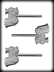"3"" TRAIN ENGINE SUCKER HARD CANDY MOLD"