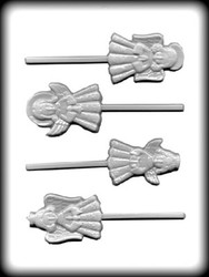 "2 7/8"" ANGEL SUCKER HARD CANDY MOLD"