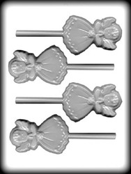 "3 1/2"" ANGEL SUCKER HARD CANDY MOLD"