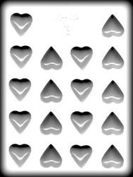 """1-1/4"""" HEART HARD CANDY MOLD"""