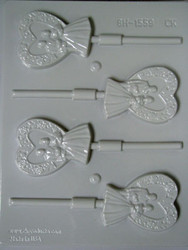 BRIDE AND GROOM HARD CANDY MOLD