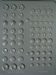 ASSORTED BUTTONS HARD CANDY MOLD