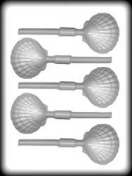 """2-1/4"""" CLAM SHELL SKR HARD CANDY MOLD"""