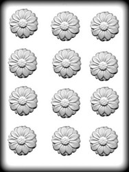 "1-3/4"" DAISY HARD CANDY MOLD"