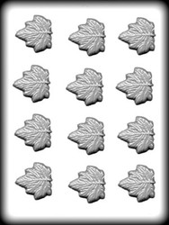 "1-3/4"" MAPLE LEAVES HARD CANDY MOLD"
