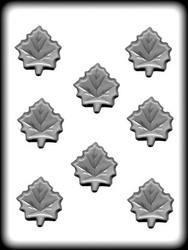 "2"" MAPLE LEAF HARD CANDY MOLD"