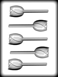 "1 3/4"" TULIP SUCKER HARD CANDY MOLD"