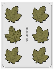 "2.5"" MAPLE LEAF HARD CANDY MOLD"