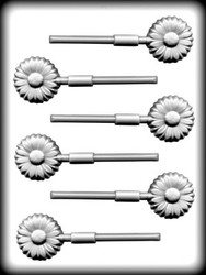 "1 1/2"" DAISY SUCKER HARD CANDY MOLD"