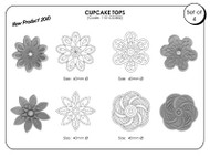 JEM CUPCAKE TOPS DESIGN SET 2
