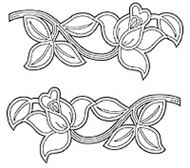 JEM CUTWORK ROSE SET SET/2