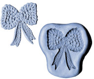 "SILICONE MOLD-2 1/4"" LACE BOW"