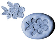 SILICONE MOLD-FLOWER/LEAVES