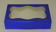 "COOKIE BOX-BLUE 8 3/8"" x 5¼"" x 2"""
