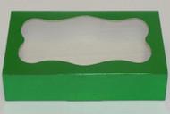 "COOKIE BOX-GREEN 8 3/8"" x 5¼"" x 2"""