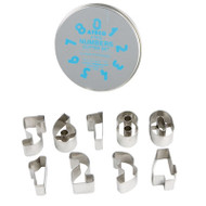 CUTTER SET-NUMBERS--9 PC--1-3/8""