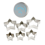CUTTER SET-STARS--6 PC