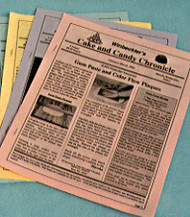 August-September 87--Winbeckler's Cake and Candy Chronicle Newsletter