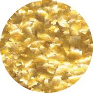 1/4 OZ GLITTER FLAKES-METALLIC GOLD