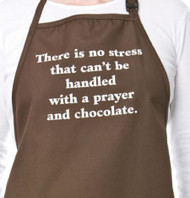 APRON-PRAYER AND CHOCOLATE
