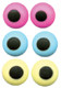 "ICING EYES 1/2"" ASST. COLORS--BOX/500"