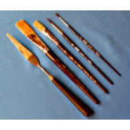Brush & Palette Knife Set For Figure Piping
