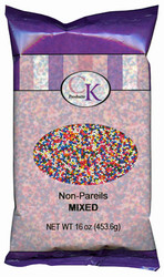 16 OZ NON-PAREILS MIXED
