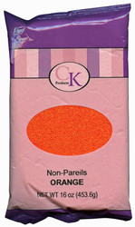 16 OZ NON-PAREILS ORANGE