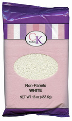 16 OZ NON-PAREILS WHITE