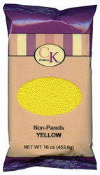 16 OZ NON-PAREILS YELLOW