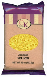 16 OZ JIMMIES-YELLOW
