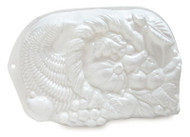 "PLASTIC PAN-CORNUCOPIA--HORN OF PLENTY--12"" x 8-1/2""--Discontinued--Only 1 Available"