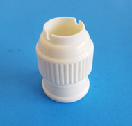 LARGE PLASTIC COUPLER--Fits Large Pastry Tips & Fits Russian Tips (Except Sphere-Ball Tips)