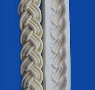 Braid Border Mold -  Silicone