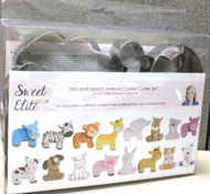 MIX & MATCH ANIMAL COOKIE CUTTER SET