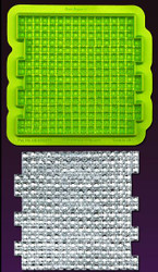 Gem Squared Bling Impression/Texture Mat by Marvelous Molds