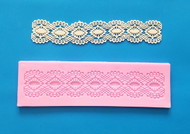 "Diamond Design Lace Mat - Silicone--6-1/2"" X 1-1/2"""