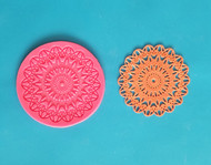 Starburst Lace Mat - Silicone--2-7/8""
