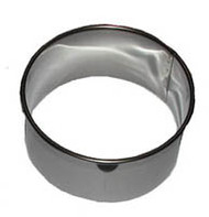 "3-1/2"" ROUND BISCUIT/COOKIE CUTTER Stainless"