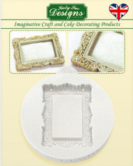MINI FRAME VINTAGE RECTANGLE SILICONE MOLD