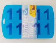 Number 1 Silicone Mold