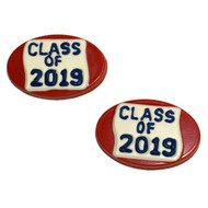 Class of 2019 Oval Chocolate Candy Mold--Graduation Mold