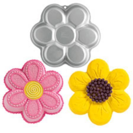 Wilton Dancing Daisy Cake Pan Cake Decorating Supplies