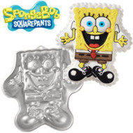 WILTON SPONGEBOB EXCITED CAKE PAN