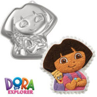 WILTON DORA W/BACKPACK CAKE PAN