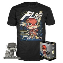 Funko POP! & Tee DC Collection By Jim Lee: The Flash GameStop Exclusive Vinyl Figure & T-shirt Set - Size: Small - Funko Closeout