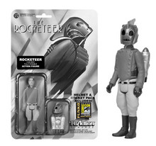 2014 SDCC Funko ReAction: Black & White Rocketeer Action Figure - Warehouse Blowout
