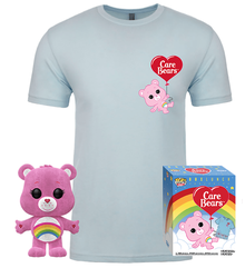 Funko POP! & Tee Care Bears: Cheer Bear BoxLunch Exclusive Vinyl Figure & T-shirt Set - Size: Small - Funko Closeout